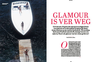 Glamour is ver weg
